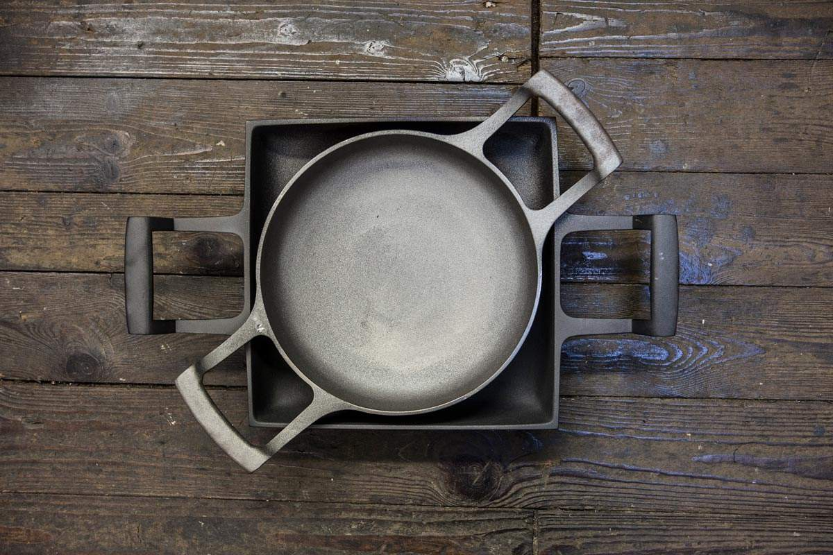 The Manufacturing of cast Iron Pots and Pans