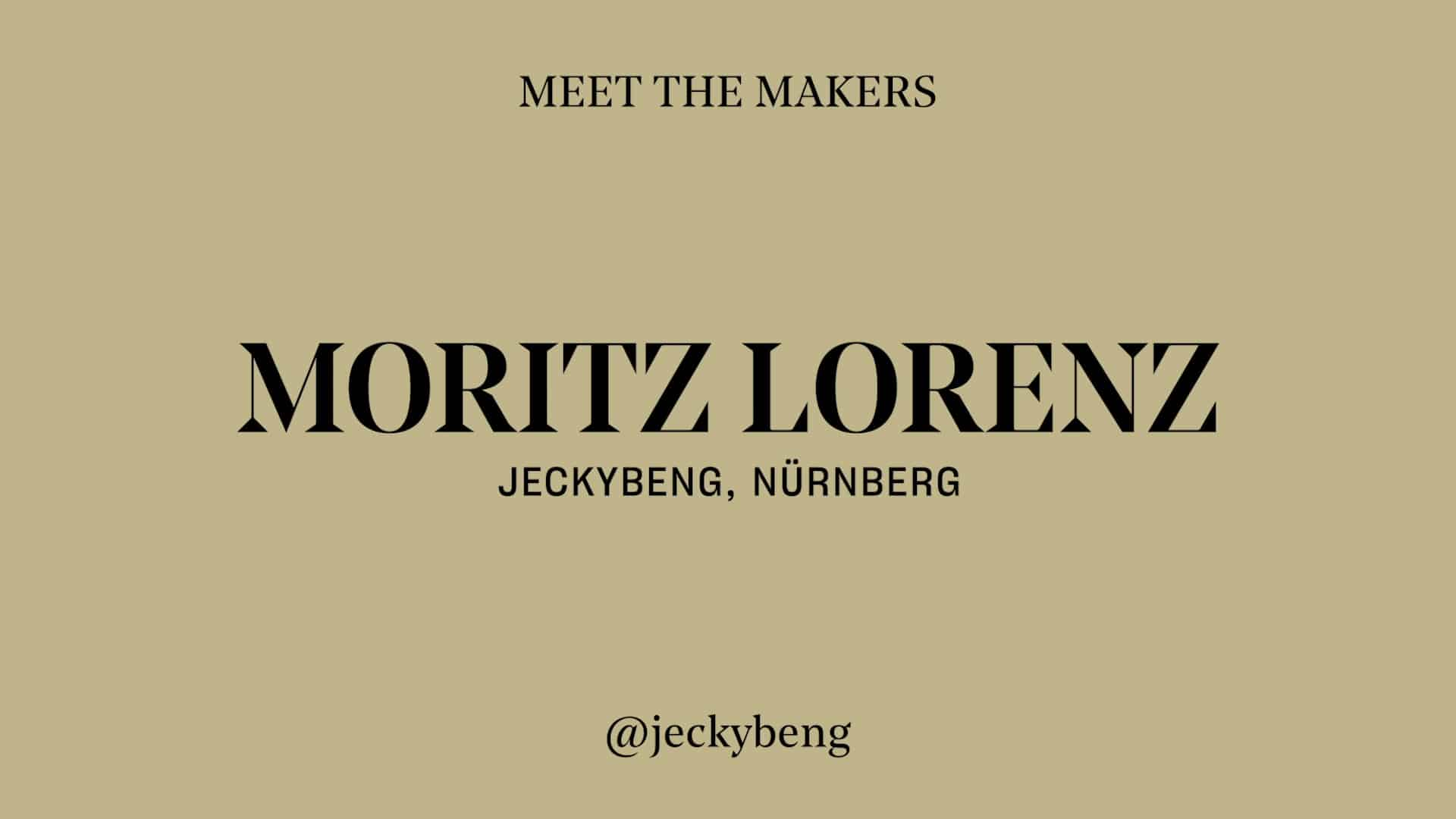 Moritz Lorenz Jeckybeng